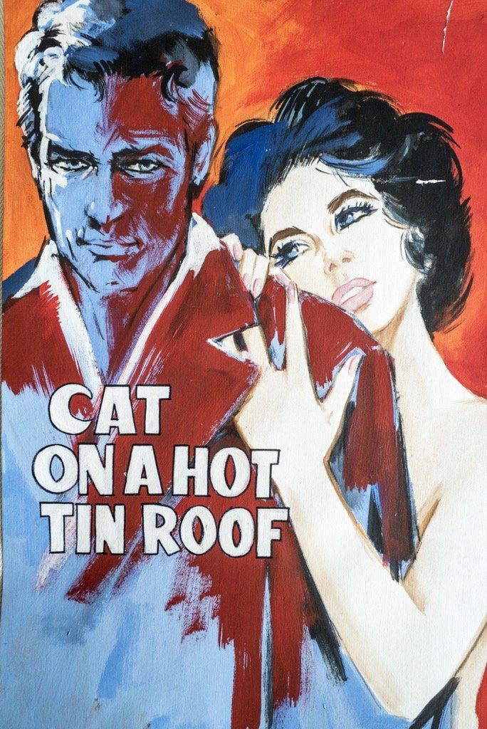 La gatta sul tetto che scotta, Paul Newman, Liz Taylor_DSC0266 copia